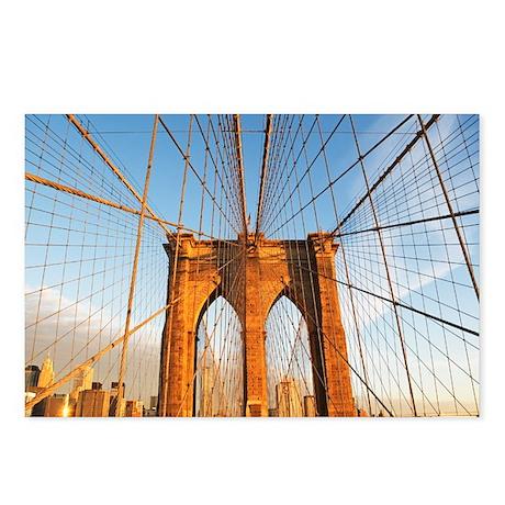 USA, New York State, New York City, Span of Brookl