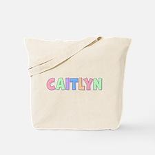 Caitlyn Rainbow Pastel Tote Bag