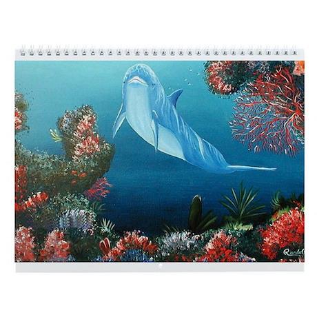 Dolphin Wall Calendar