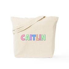 Caitlin Rainbow Pastel Tote Bag