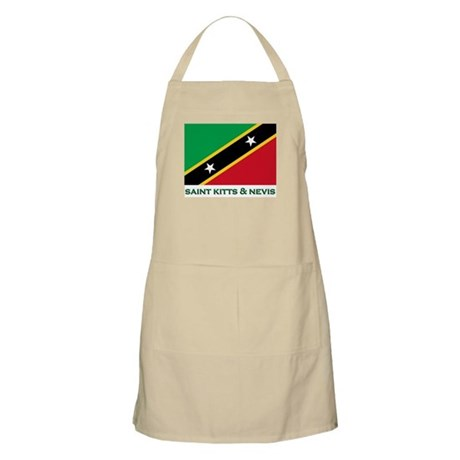 Saint Kitts & Nevis Flag Merchandise BBQ Apron