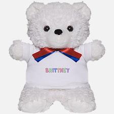 Brittney Rainbow Pastel Teddy Bear