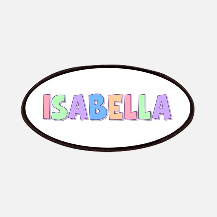 Isabella Rainbow Pastel Patch
