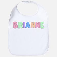 Brianne Rainbow Pastel Bib