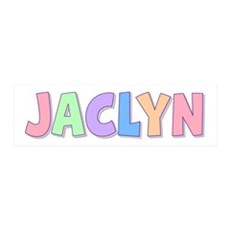 Jaclyn Rainbow Pastel 36x11 Wall Peel