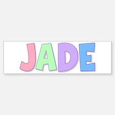 Jade Rainbow Pastel Bumper Bumper Bumper Sticker