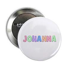 Johanna Rainbow Pastel Button