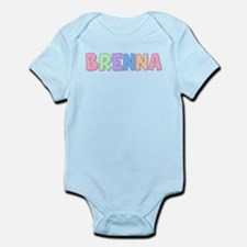 Brenna Rainbow Pastel Infant Bodysuit