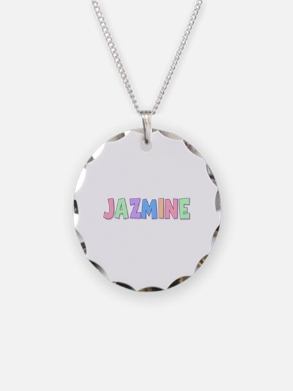 Jazmine Rainbow Pastel Necklace