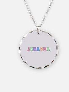 Johanna Rainbow Pastel Necklace