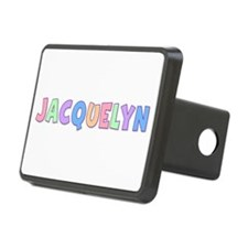 Jacquelyn Rainbow Pastel Hitch Cover
