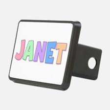 Janet Rainbow Pastel Hitch Cover