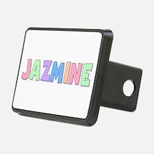 Jazmine Rainbow Pastel Hitch Cover