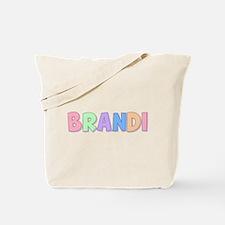 Brandi Rainbow Pastel Tote Bag