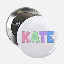 Kate Rainbow Pastel Button
