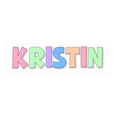 Kristin Rainbow Pastel 36x11 Wall Peel