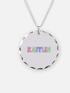 Kaitlin Rainbow Pastel Necklace