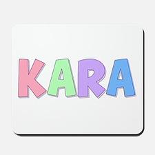 Kara Rainbow Pastel Mousepad