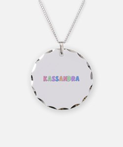 Kassandra Rainbow Pastel Necklace