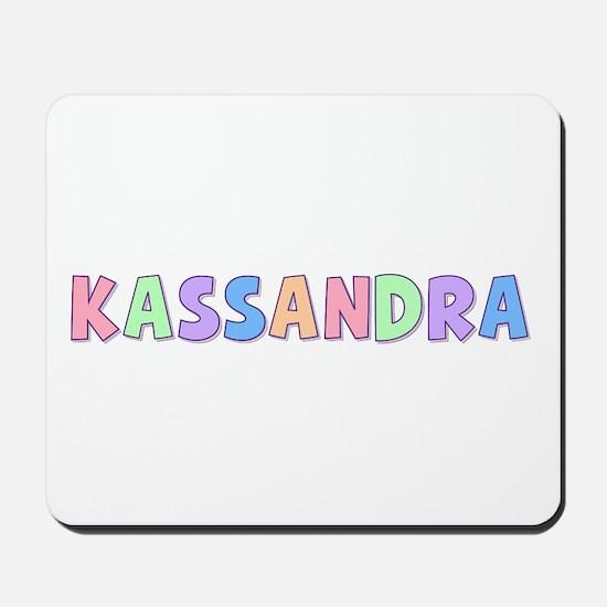 Kassandra Rainbow Pastel Mousepad