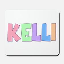 Kelli Rainbow Pastel Mousepad