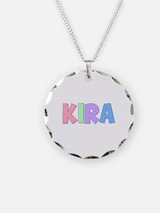 Kira Rainbow Pastel Necklace