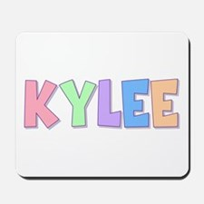 Kylee Rainbow Pastel Mousepad