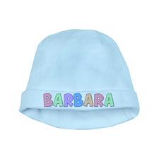 Barbara Rainbow Pastel baby hat