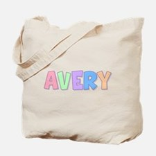 Avery Rainbow Pastel Tote Bag