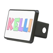 Kelli Rainbow Pastel Hitch Cover