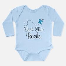 Book Club Rocks Long Sleeve Infant Bodysuit