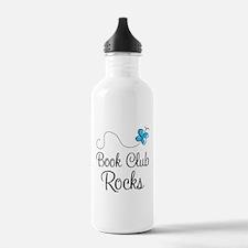 Book Club Rocks Water Bottle