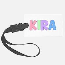 Kira Rainbow Pastel Luggage Tag