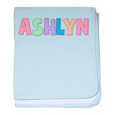 Ashlyn Rainbow Pastel baby blanket