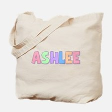 Ashlee Rainbow Pastel Tote Bag