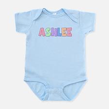 Ashlee Rainbow Pastel Infant Bodysuit
