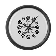 Cute Lab lovers Large Wall Clock