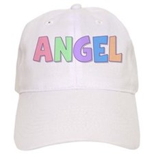 Angel Rainbow Pastel Baseball Cap