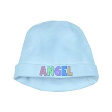 Angel Rainbow Pastel baby hat
