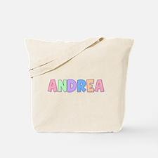Andrea Rainbow Pastel Tote Bag