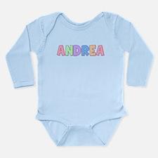 Andrea Rainbow Pastel Onesie Romper Suit