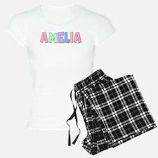 Amelia Rainbow Pastel Pajamas