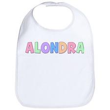 Alondra Rainbow Pastel Bib