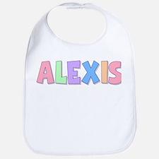Alexis Rainbow Pastel Bib