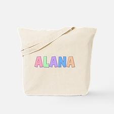 Alana Rainbow Pastel Tote Bag