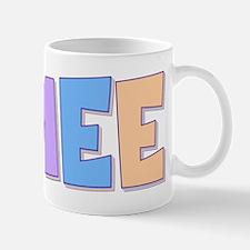 Aimee Rainbow Pastel Mug