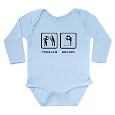 Wedding Long Sleeve Infant Bodysuit