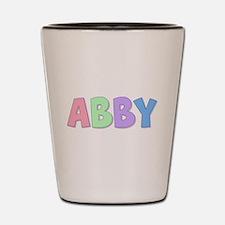 Abby Rainbow Pastel Shot Glass