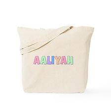 Aaliyah Rainbow Pastel Tote Bag