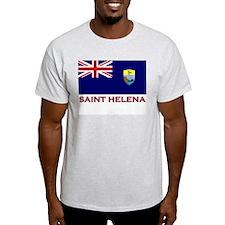 Flag of Saint Helena Ash Grey T-Shirt
